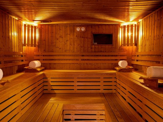Sauna at Hotel Hyatt Paris Madeleine