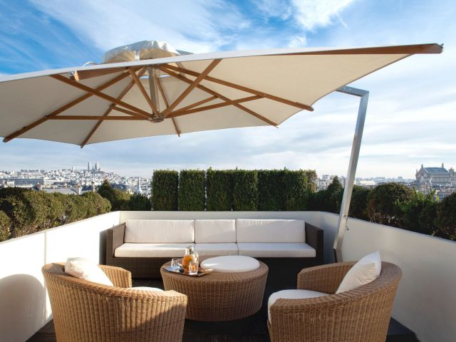 Hyatt Paris Madeleine Outdoor Seating