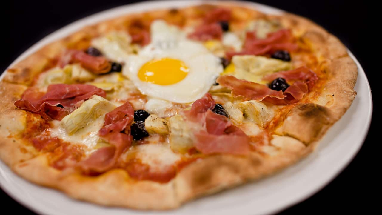 TusCA Prosciutto Pizza Hyatt Regency Orange County