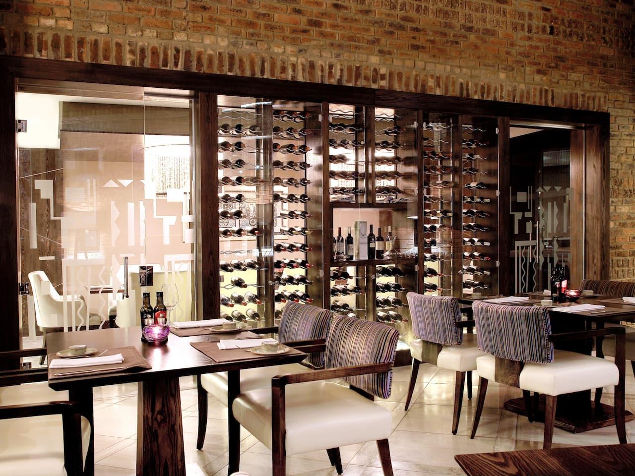 oneNINEone's stylish dining room