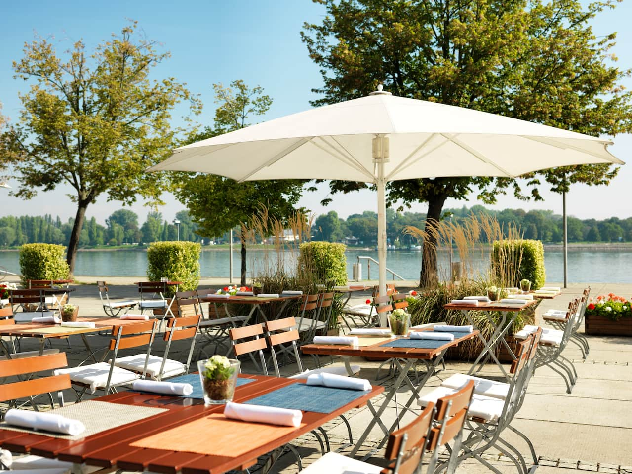 Rheintochter Terrace at Hyatt Regency Mainz
