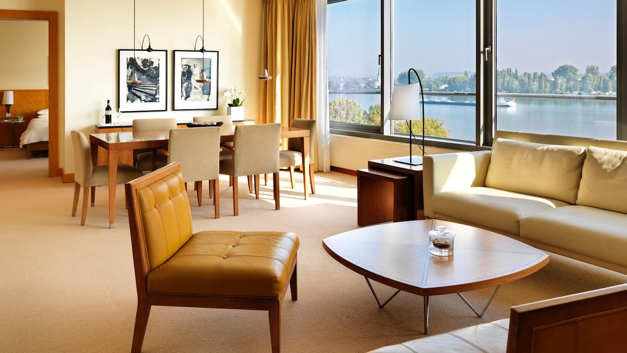 Presidential Suite at Hyatt Regency Mainz