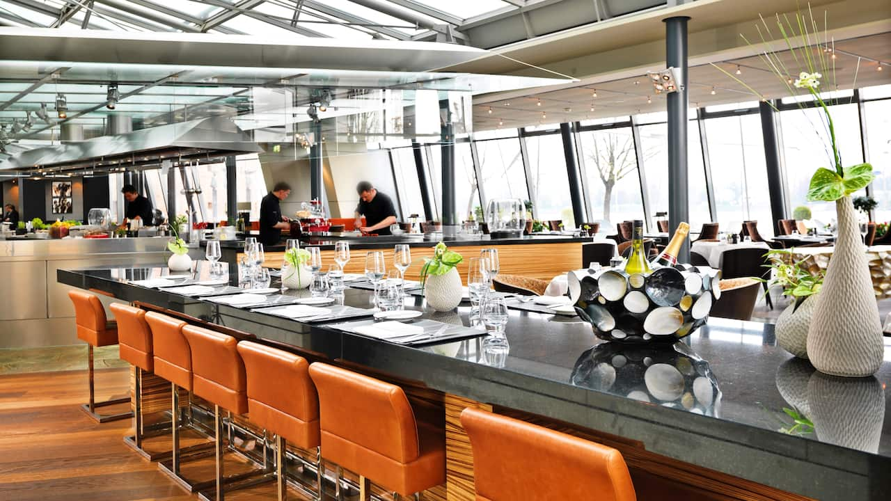 Chefs Table Restaurant Bellpepper des Hyatt Regency Mainz