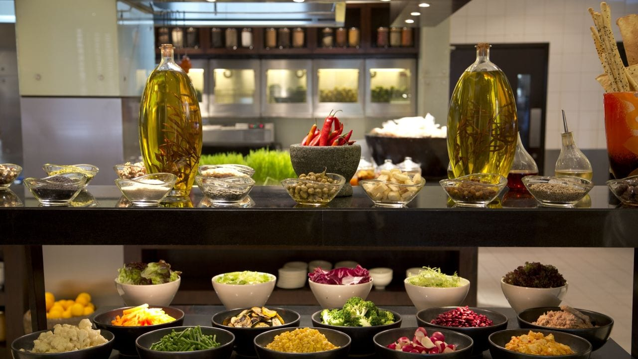 The Kitchen Salad Buffet