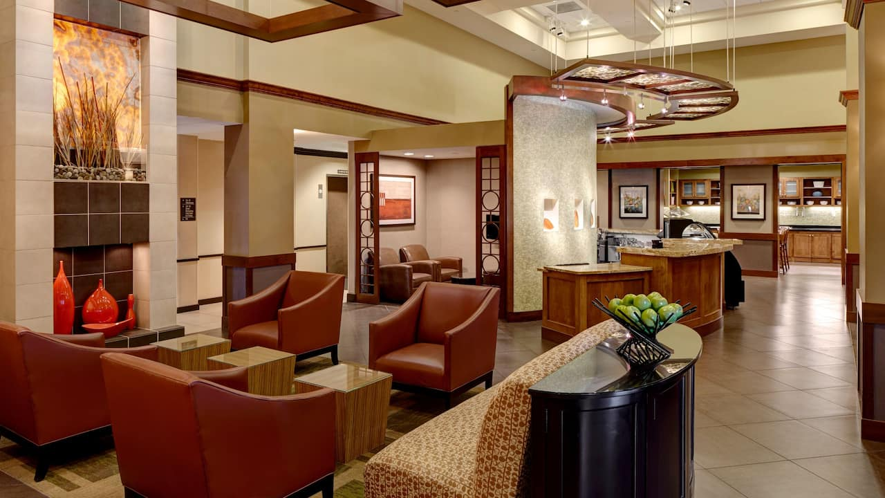 Downtown Salt Lake City Hotel Lobby – Hyatt Place Salt Lake City/Downtown/The Gateway