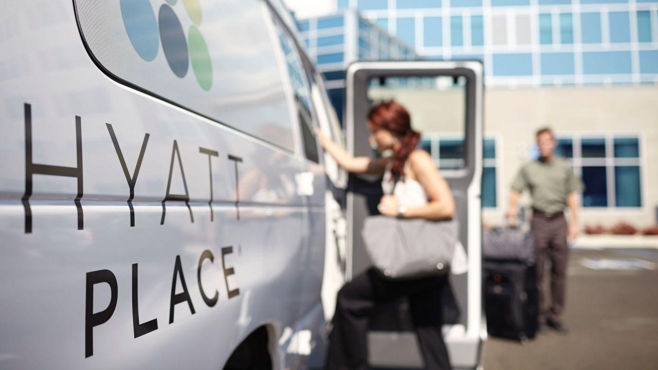 Hyatt Place free shuttle service