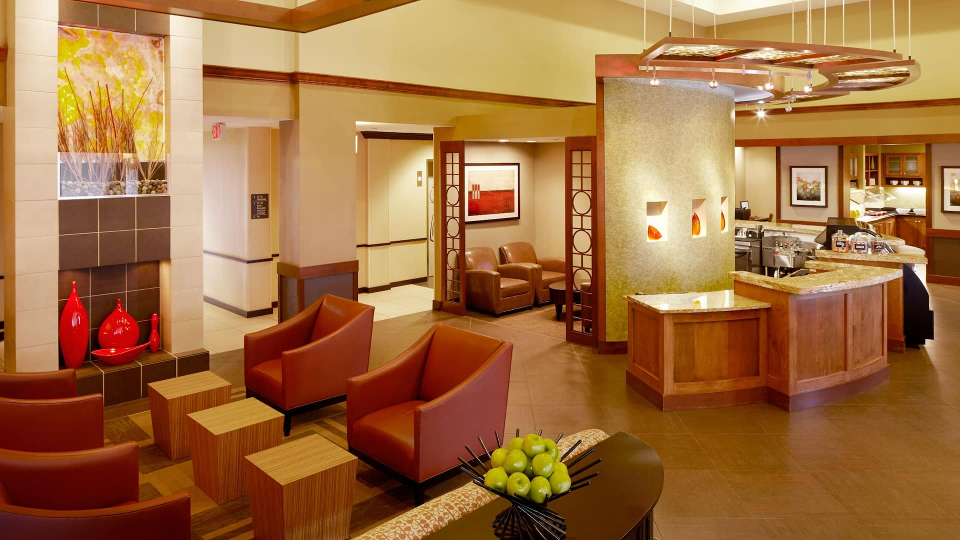 Hyatt Place Greenville/Downtown Lobby