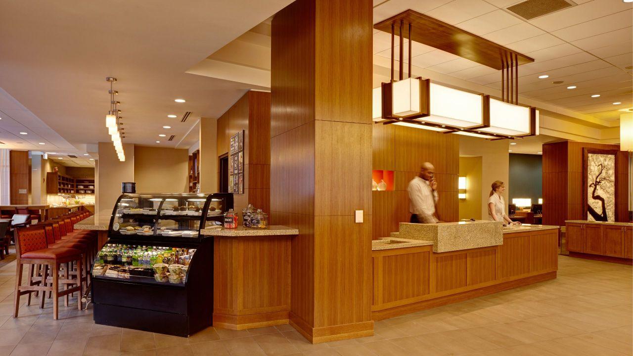 hyatt hotel lobby desk