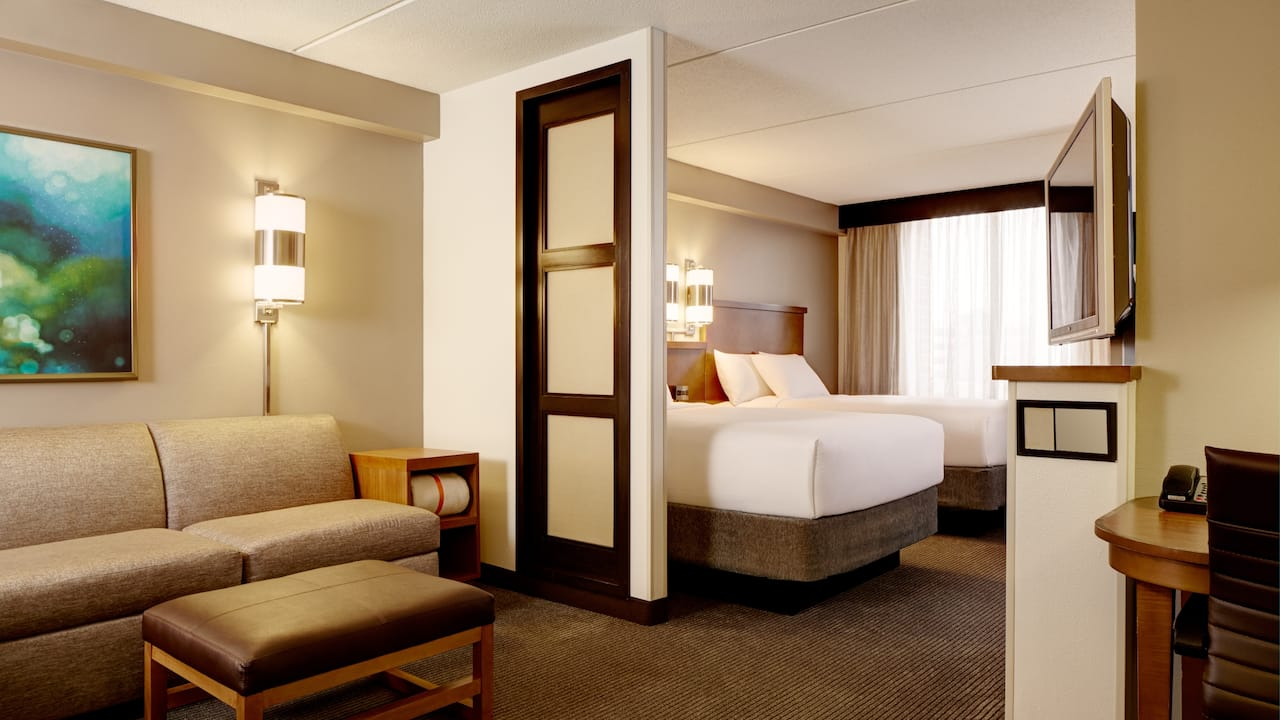 Hotel Room with Double Bed at Hyatt Place Atlanta Airport South