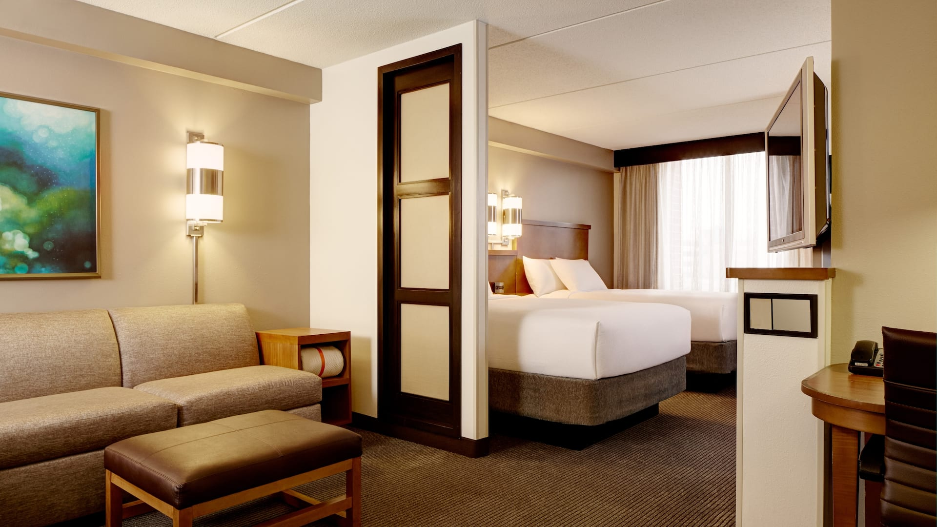 Hyatt Place Kansas City Airport Updated Room