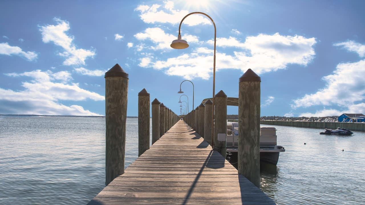 Rudder Dock