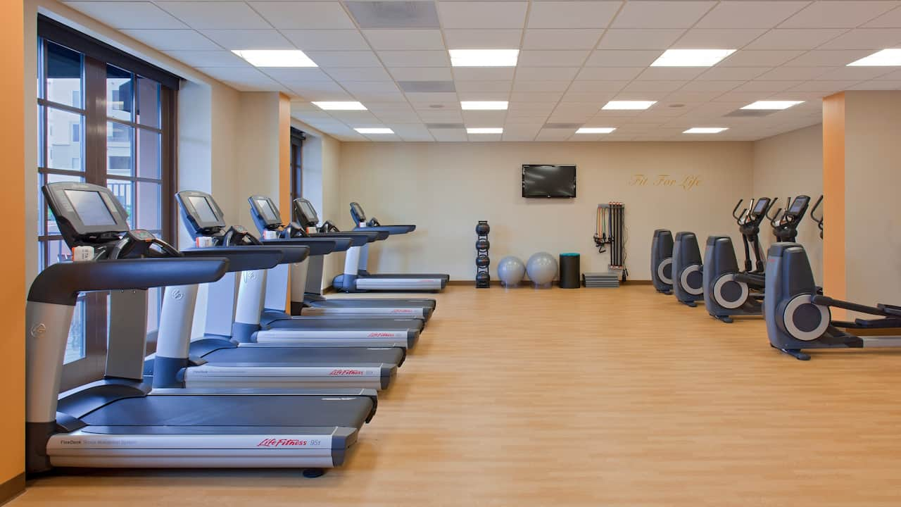 Fitness Center Hyatt Regency La Jolla at Aventine