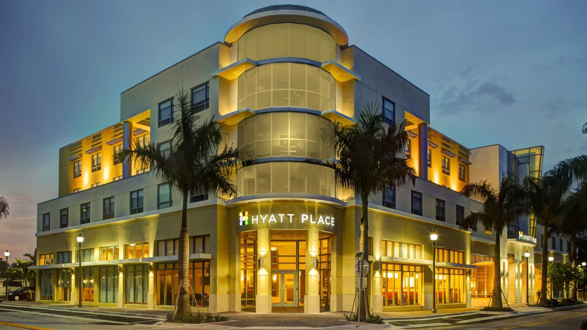 Hyatt Place Delray Beach Exterior