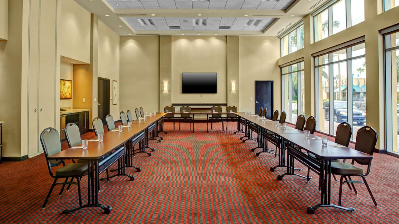 Hyatt Place Delray Beach Meeting Room with Tables