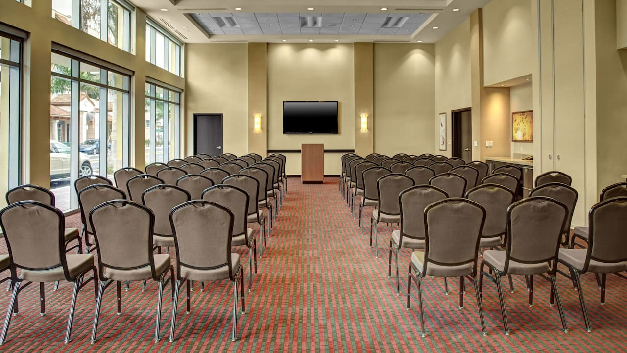 Hyatt Place Delray Beach Meeting Room Theater