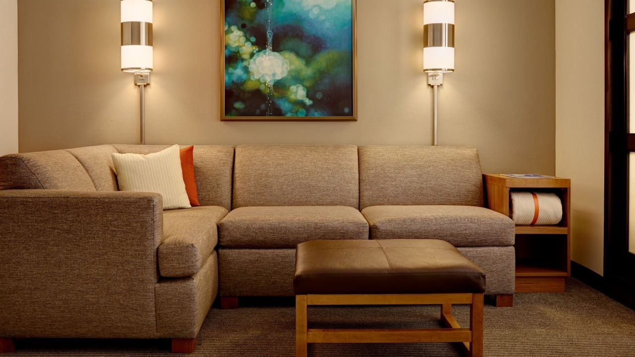 Hyatt Place Kansas City/Overland Park/Convention Center Couch