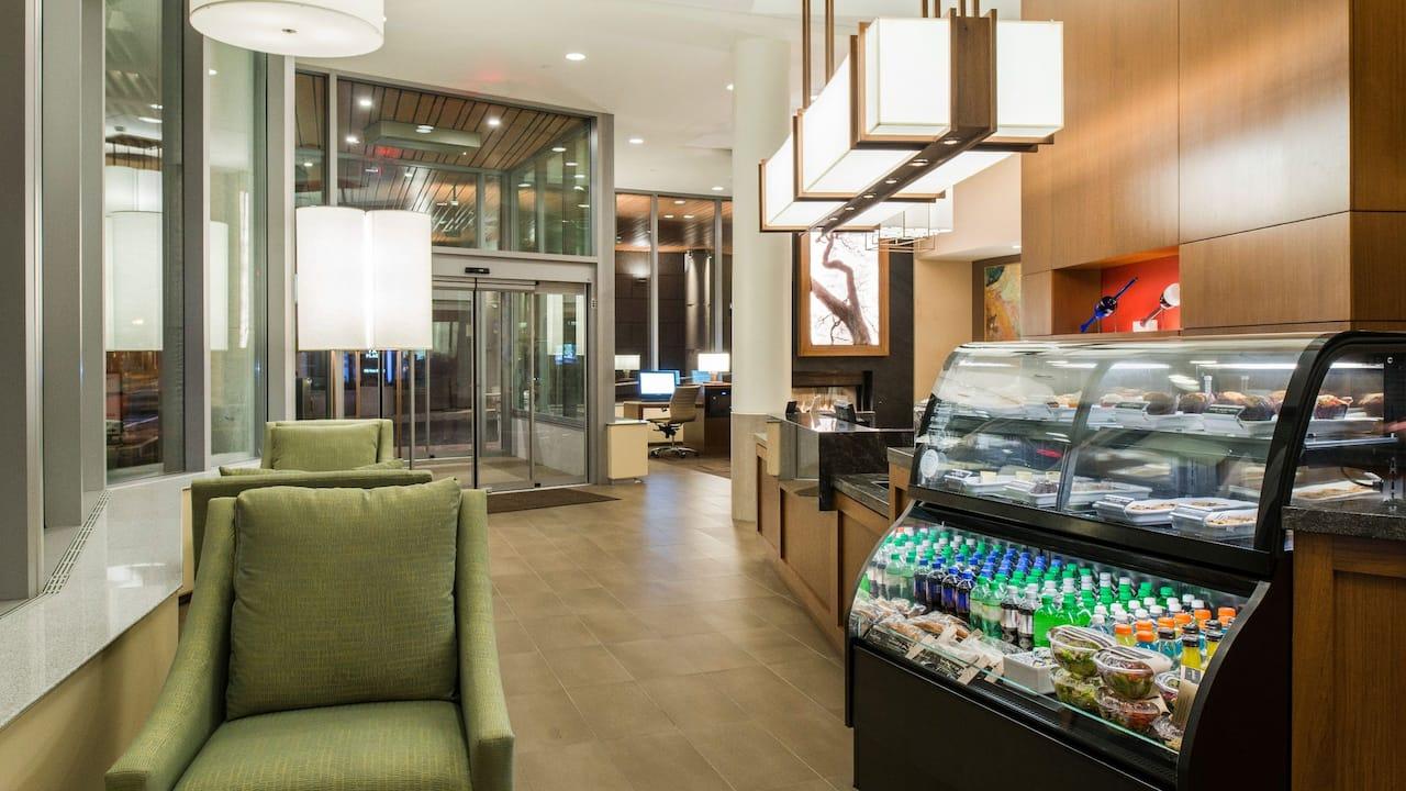 lobby snacks