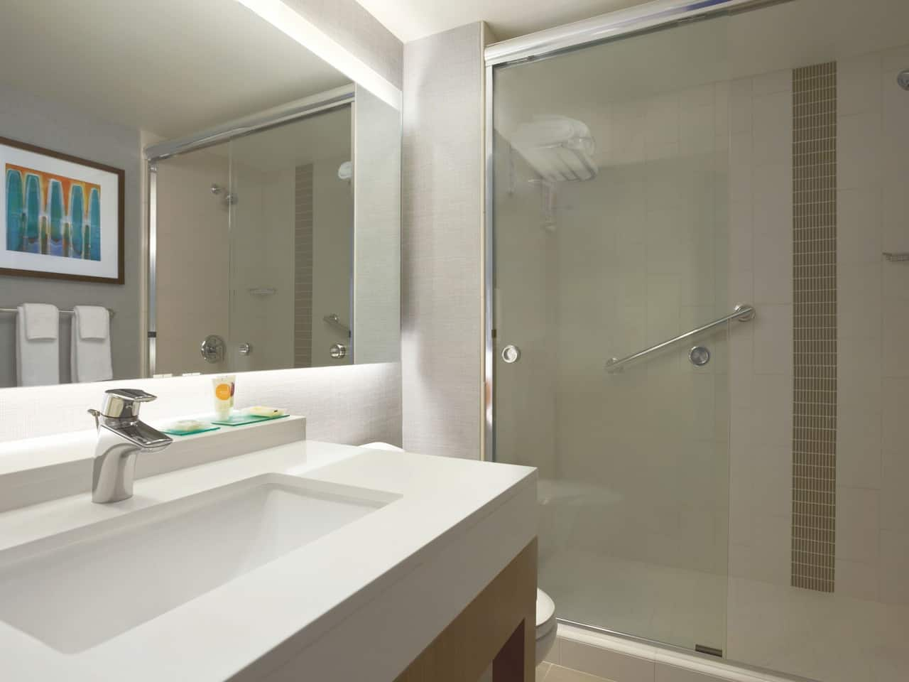 Spacious Hotel Bathrooms – Hyatt Place Salt Lake City/Cottonwood