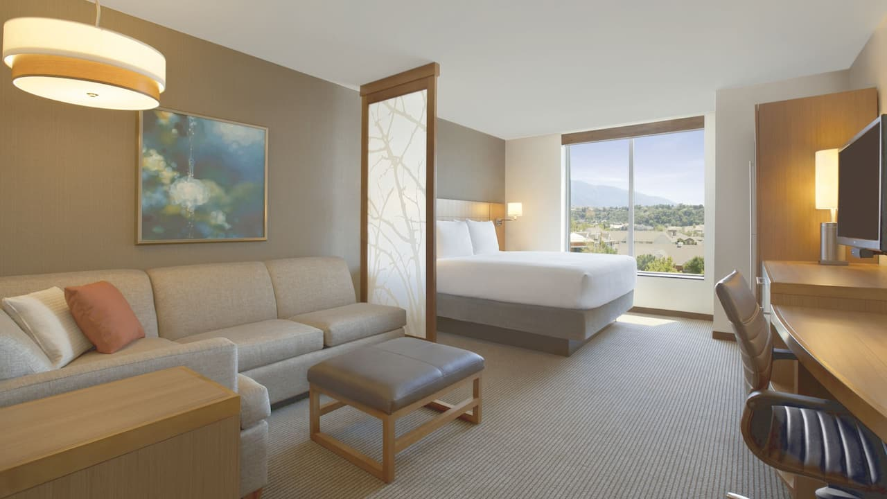 Pet-Friendly Hotel Rooms in Cottonwood, UT – King Bed – Hyatt Place Salt Lake City/Cottonwood