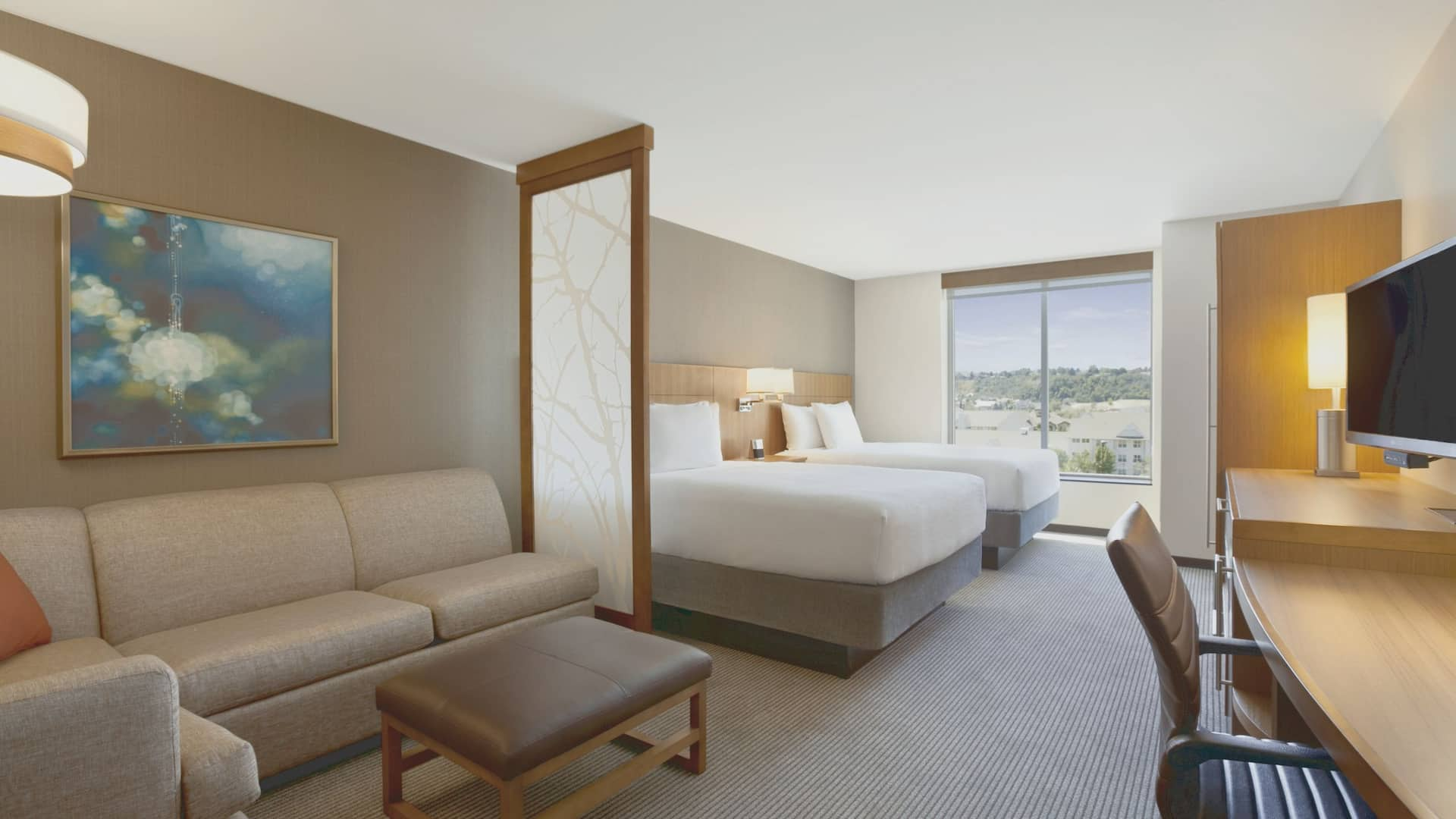 Cottonwood Hotel Room with Two Queen Beds – Hyatt Place Salt Lake City/Cottonwood