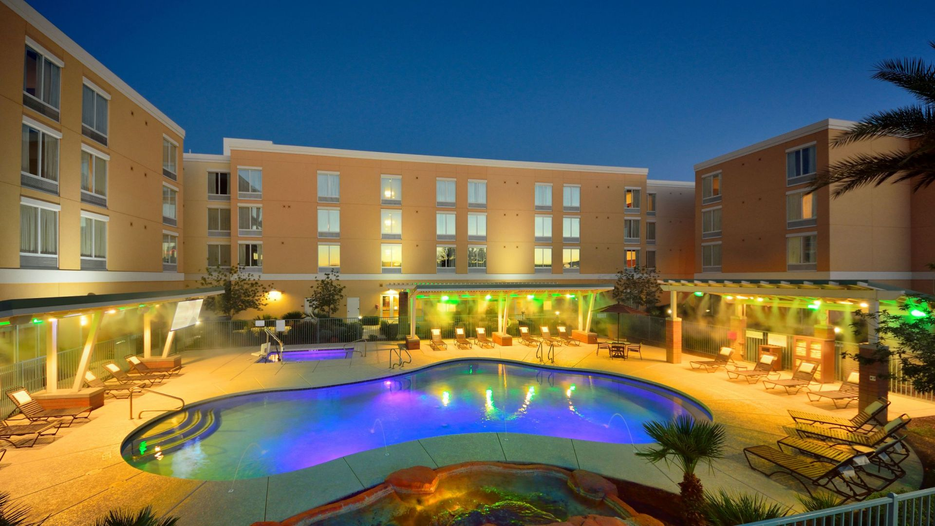 Hotel Exterior with Pool