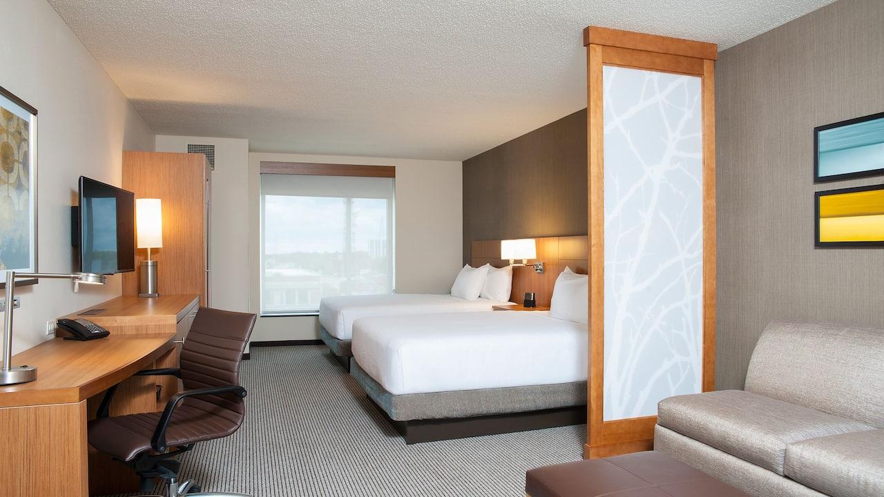 Hyatt Place Champaign Double Room
