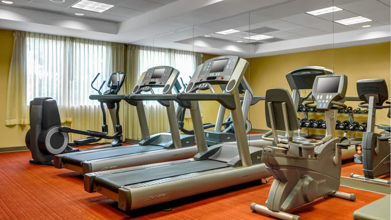 Hyatt Place Fort Lauderdale 17th St Convention Center 24/7 Gym