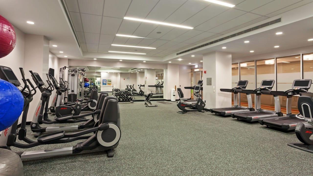 Fitness Center Hyatt Place Chicago/River North