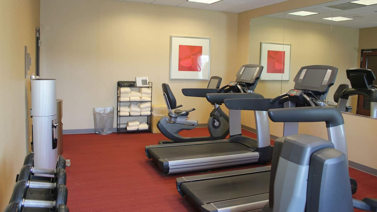 hyatt place dallas garland richardson fitness center