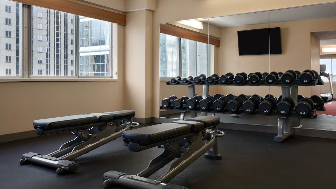Hyatt Place Minneapolis Downtown 24/7 Gym 02