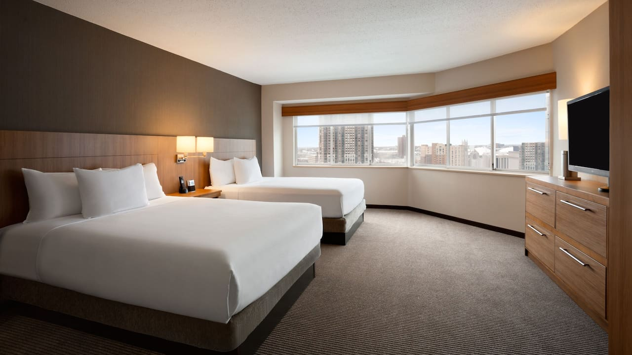 Hyatt Place Minneapolis Downtown two bed suite