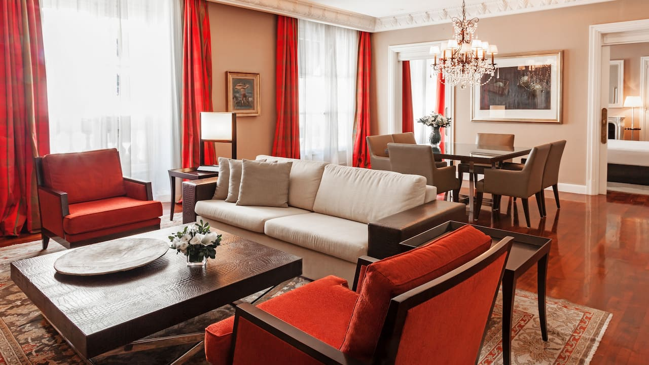Alvear Suite-Living-Room