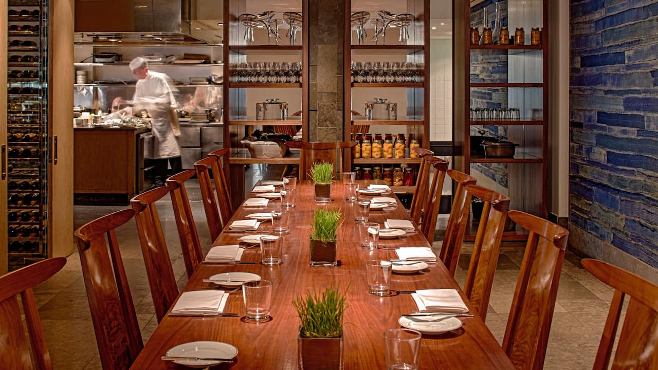Blue Duck Tavern Chef's Table