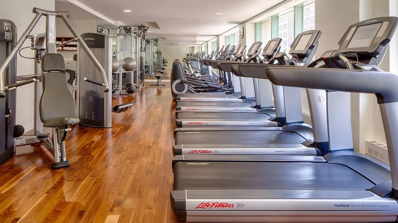 Park Hyatt Washington D.C. Fitness center