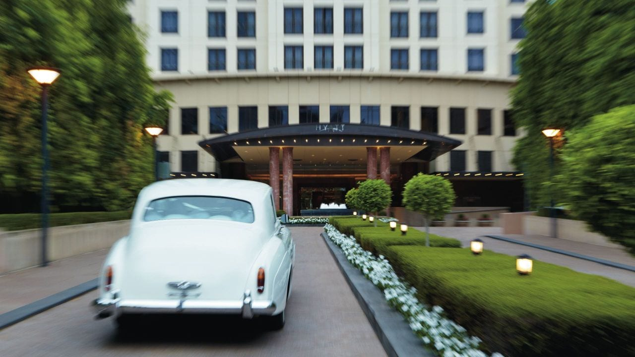 Park Hyatt Melbourne wedding car