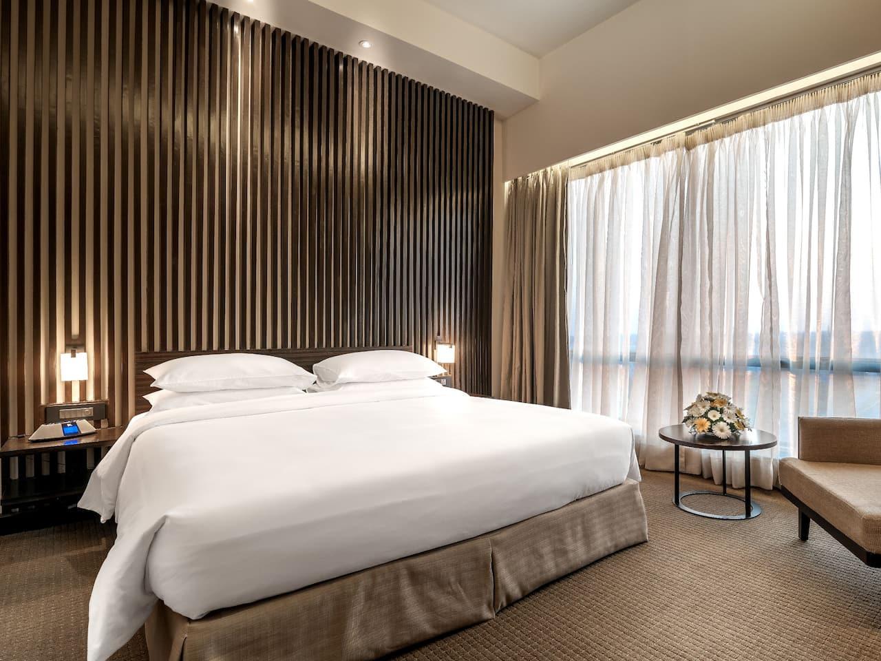 Hyatt Raipur Bedroom