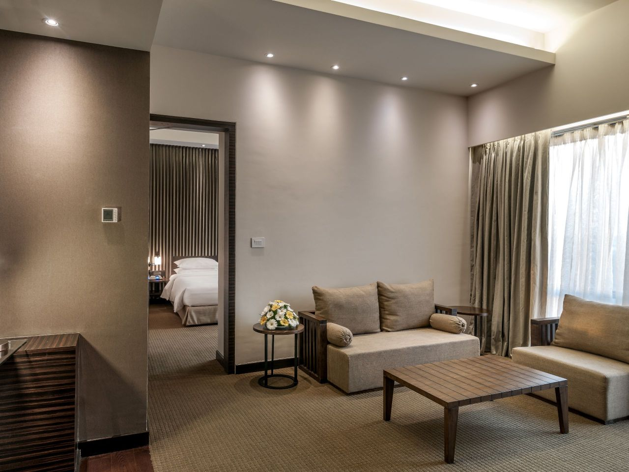 Hyatt Raipur Bedroom