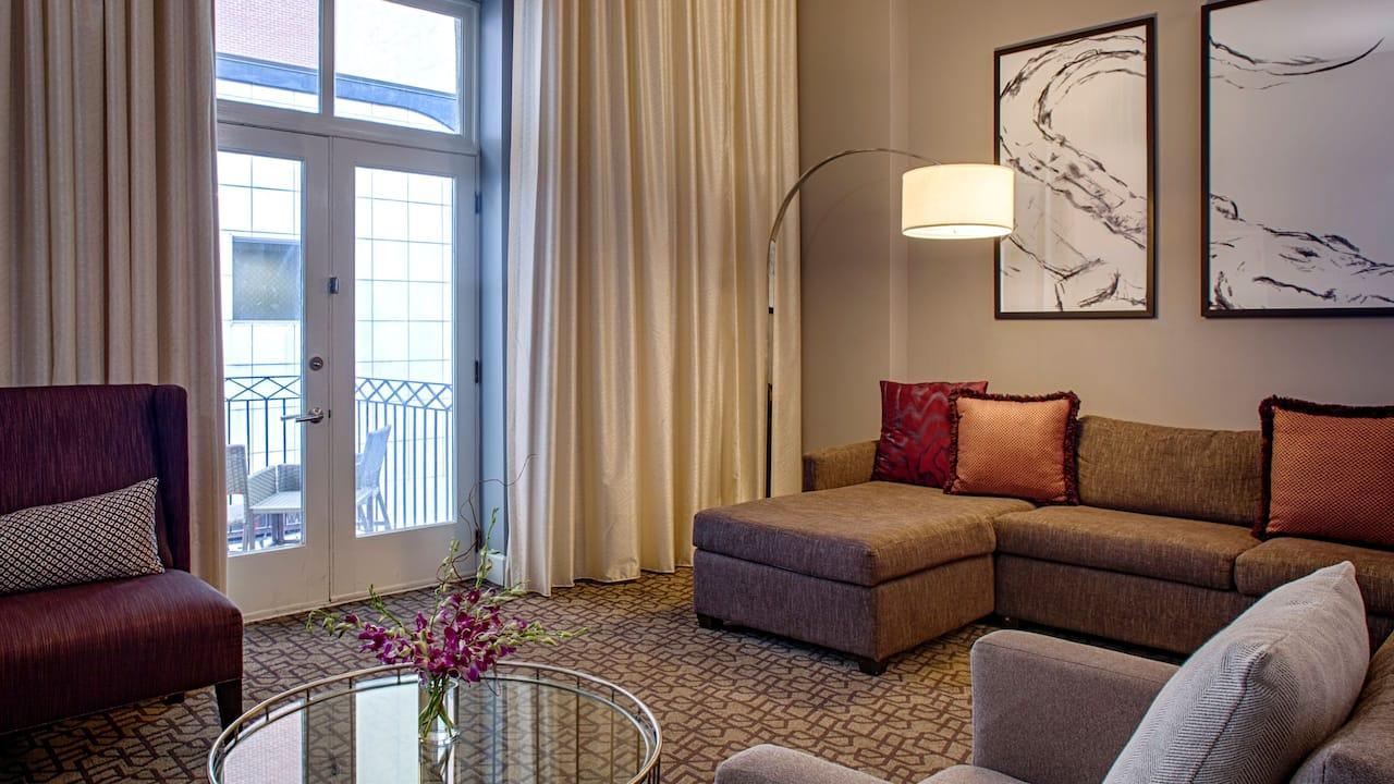 Premier Bourbon St Balcony Suite