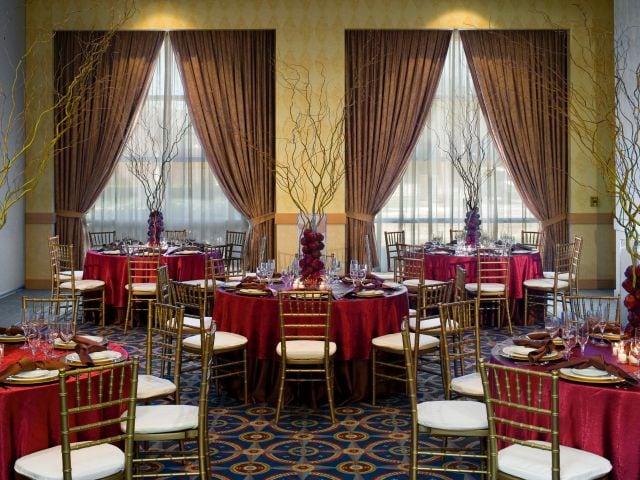 Hyatt Rosemont Ballroom Banquet