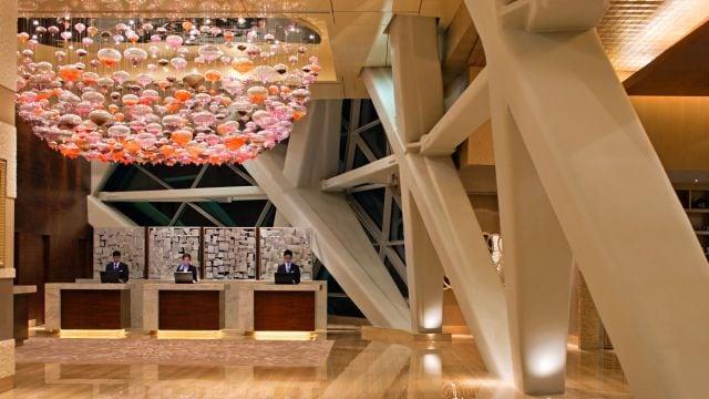 Hyatt Capital Gate Abu Dhabi Lobby