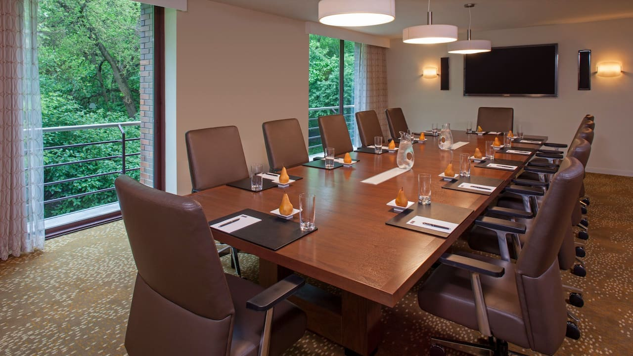 The Hyatt Lodge at McDonald's Campus Meetings