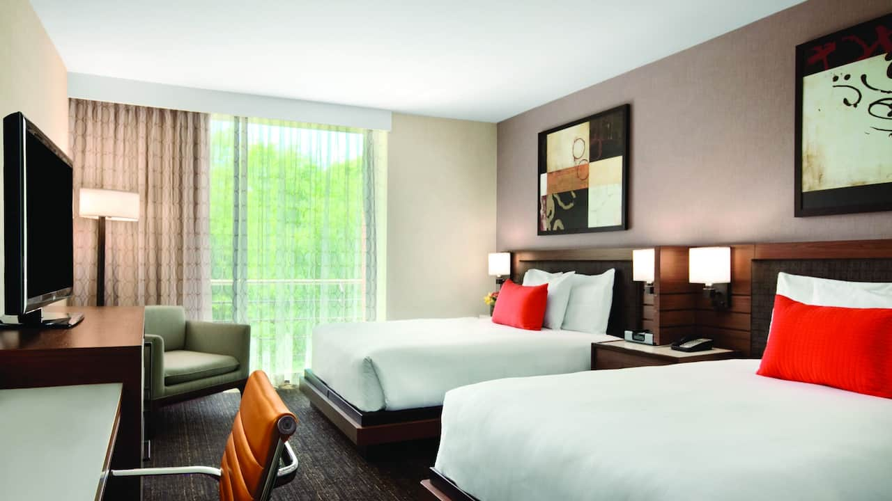 Hyatt Lodge at McDonald's Campus, ADA Double Queen guestroom