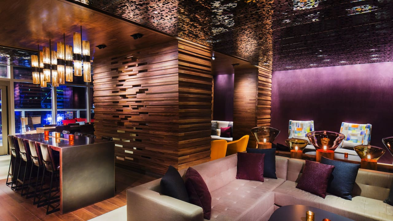 Bar 54 VIP area