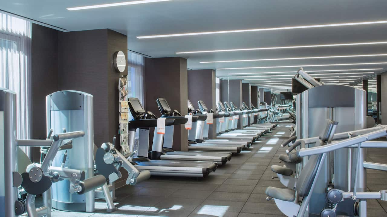 6.	Hyatt Centric Times Square New York fitness center