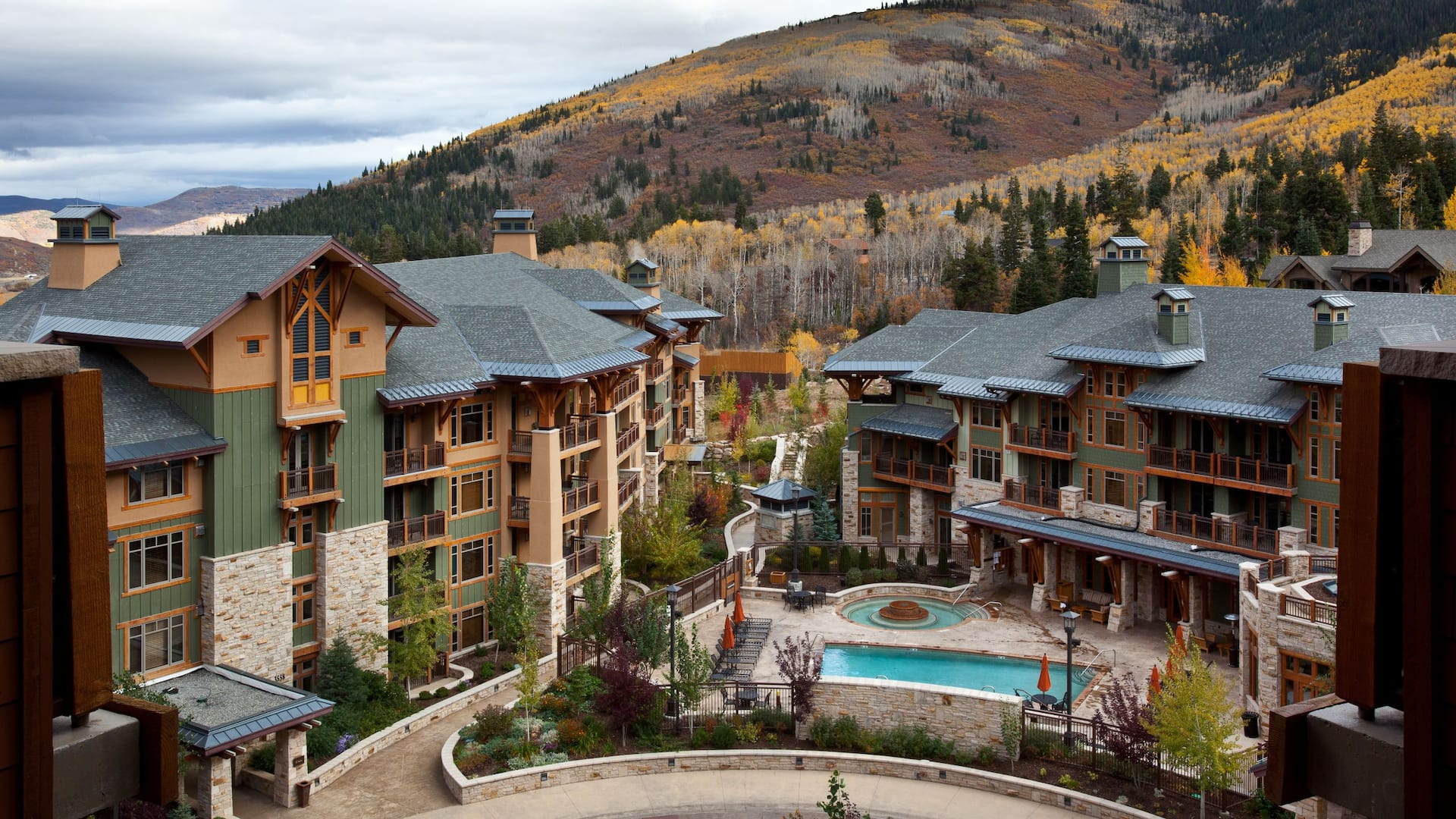 Exterior view of park city hotel Hyatt Centric Park City