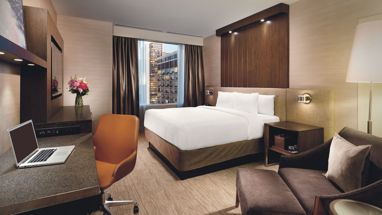 Hyatt Centric Chicago Magnificent Mile King Bed