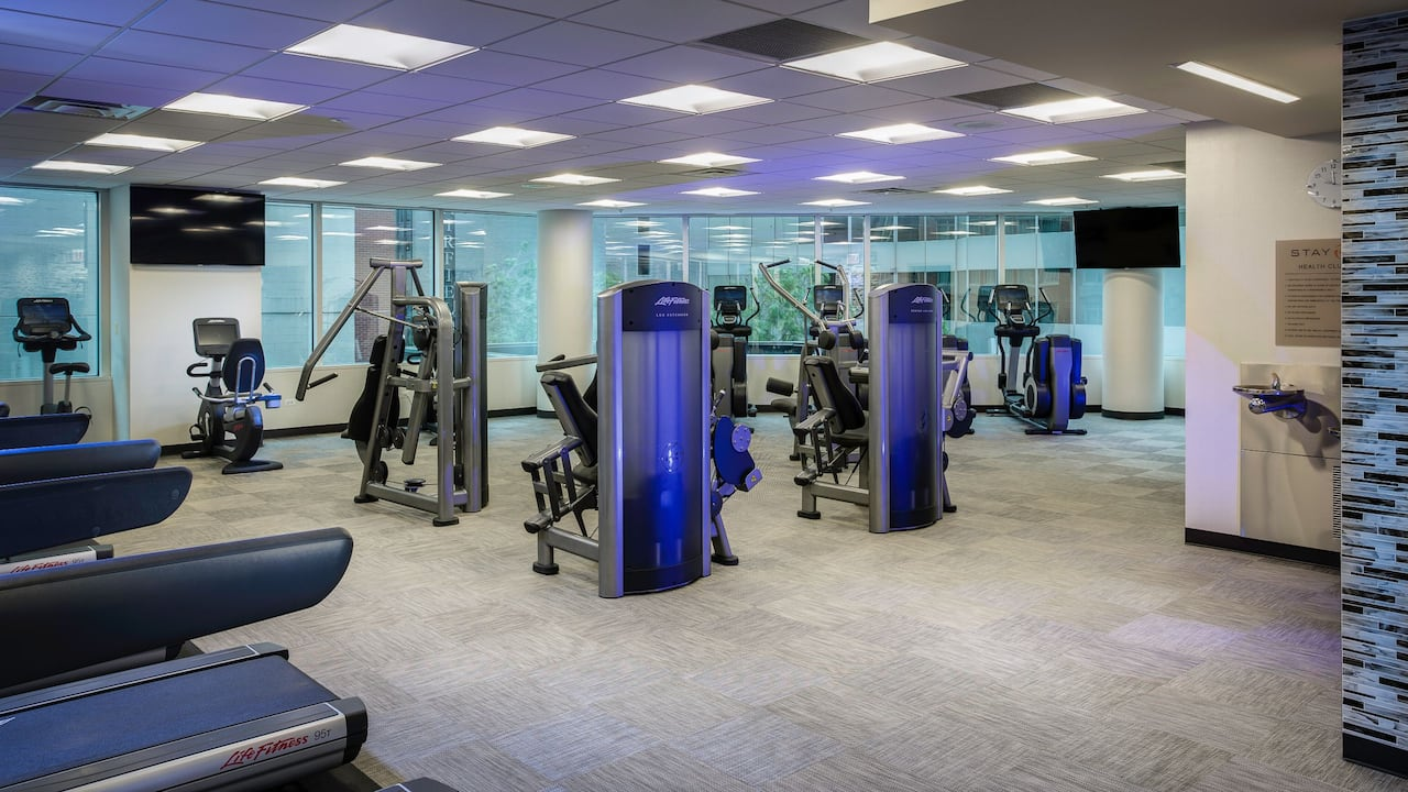 Hyatt Centric Chicago Magnificent Mile Fitness Gym in Downtown Chicago