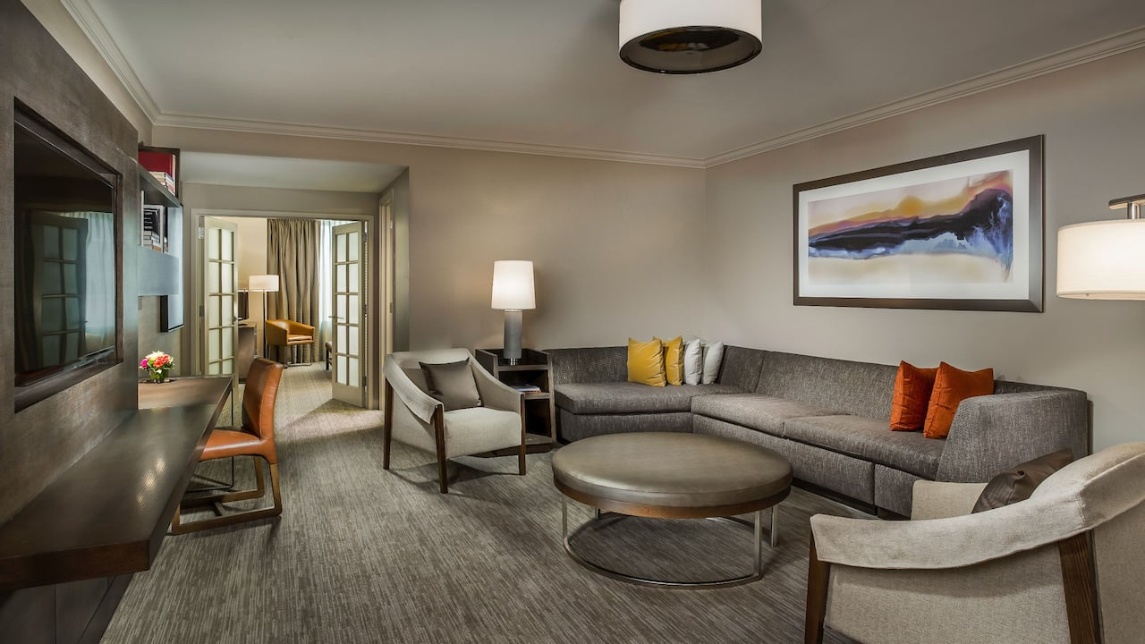 Hyatt Centric Chicago Magnificent Mile Executive Suite in Downtown Chicago