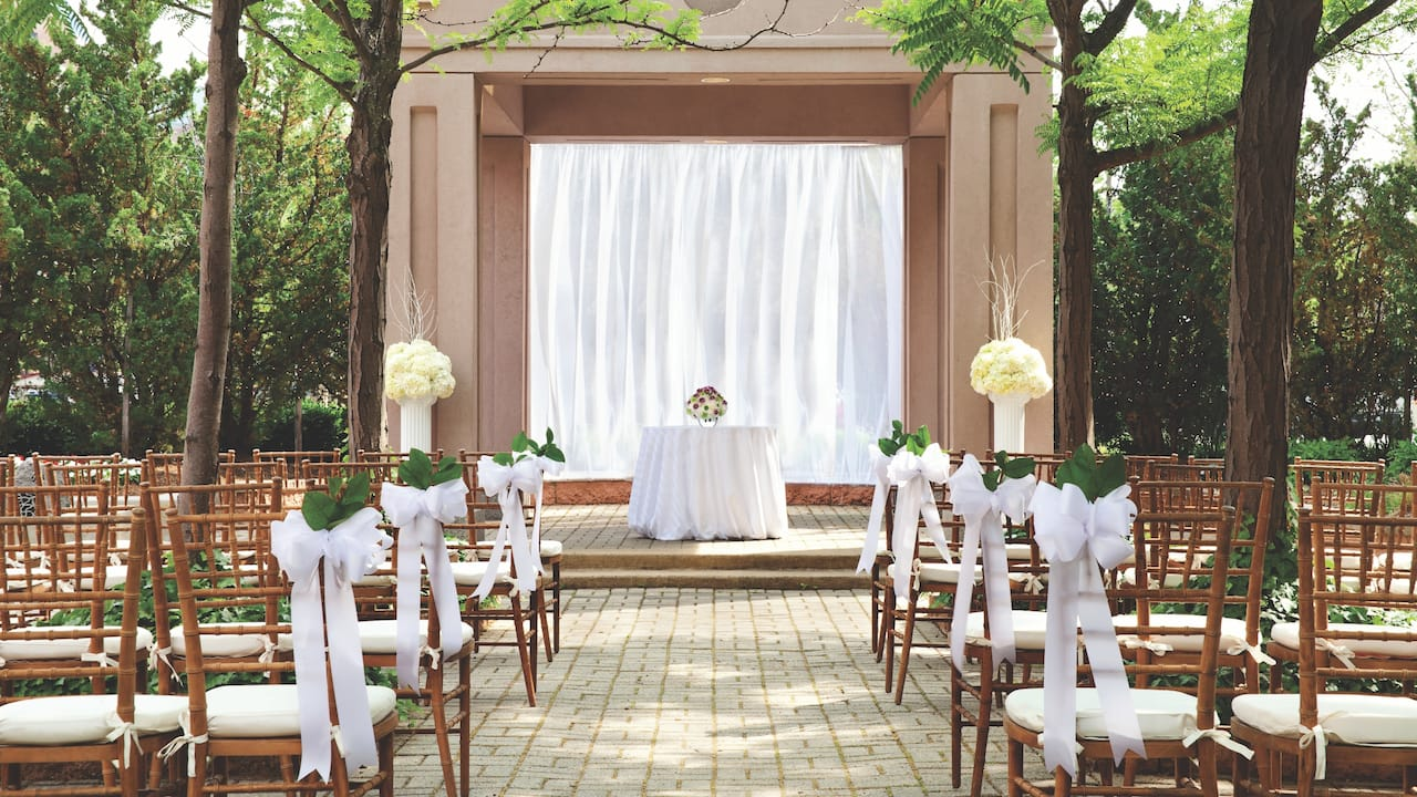 Garden Terrace Wedding