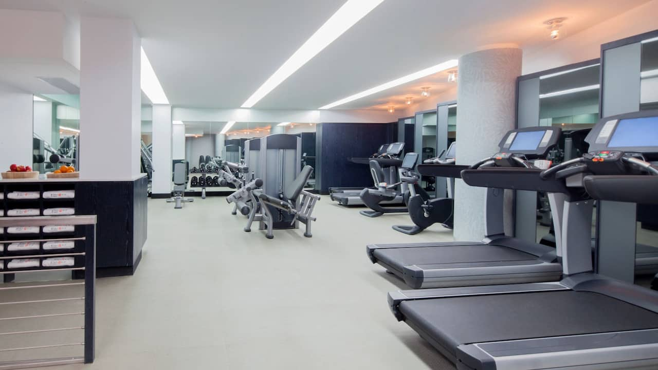 Hyatt Union Square New York Fitness Center